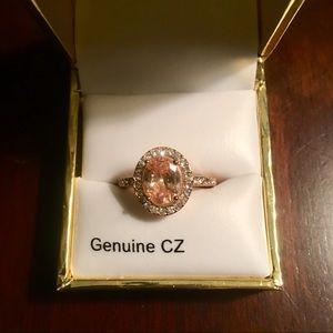 NIB Cubic Zirconia Ring // Size 7
